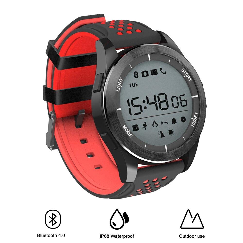 NO 1 F3 Sports Smartwatch Bluetooth 4 0 IP68 Waterproof Remote Camera Outdoor Mode Fitness Tracker