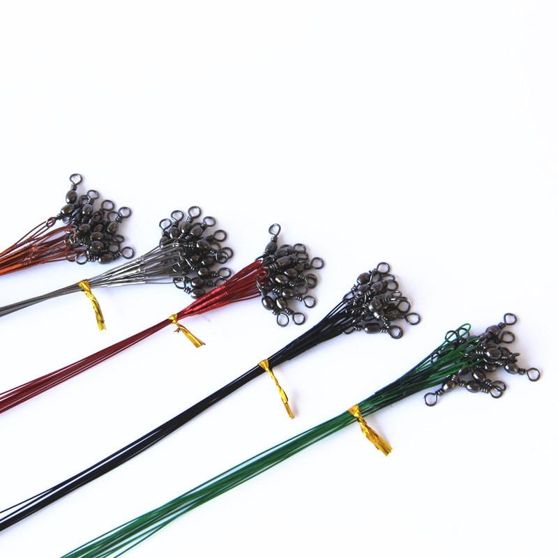 15cm 23cm 30cm steel fishing line 20pcs lot steel wire for Steel fishing line