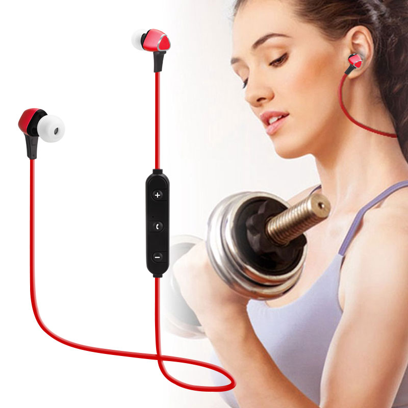 Stereo Headphones Magnetic Headset Wireless 4.1 Bluetooth Earphone with Mic Music Earbuds for Samsung iPhone Xiaomi Earphones