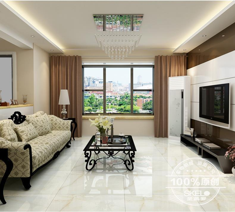tile white jade tile living room anti fouling floor tile polished glazed 800x800 porcelain floor. Black Bedroom Furniture Sets. Home Design Ideas