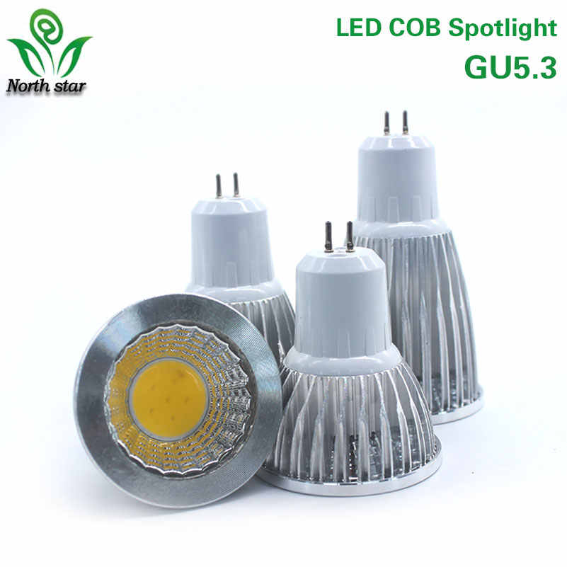 High Power Lampada Led E27 E14 GU5.3 COB 9w 12w 15w Dimmable Led Cob Spotlight Warm Cool White MR 16 12V Bulb Lamp GU 5.3 220V