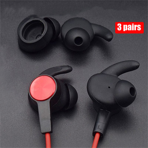 Image 1 - New  Earbuds Tips Silicone Cover Eartips for Huawei Honor xSport AM61 Bluetooth Headset Earphone Cover Ear Hook Durable