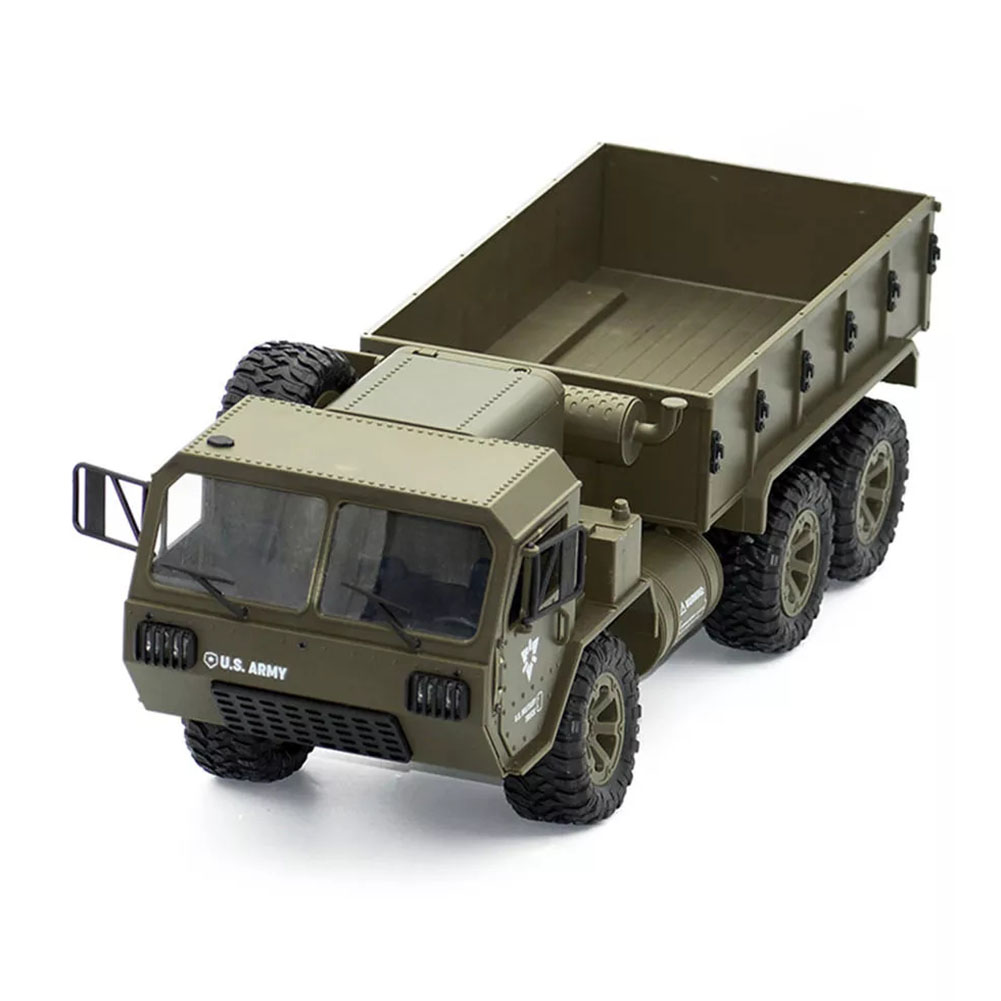 FY004A 1:16 6WD Simulation Off Road Lightweight Army Truck Children Hobby RC Car Racing Proportional Model Toys Funny VehiclesFY004A 1:16 6WD Simulation Off Road Lightweight Army Truck Children Hobby RC Car Racing Proportional Model Toys Funny Vehicles