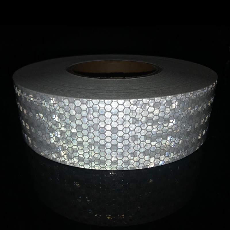 5cmx50m Reflective Bicycle Stickers Adhesive Tape For Bike Safety White Red Yellow Reflective Bike Stickers