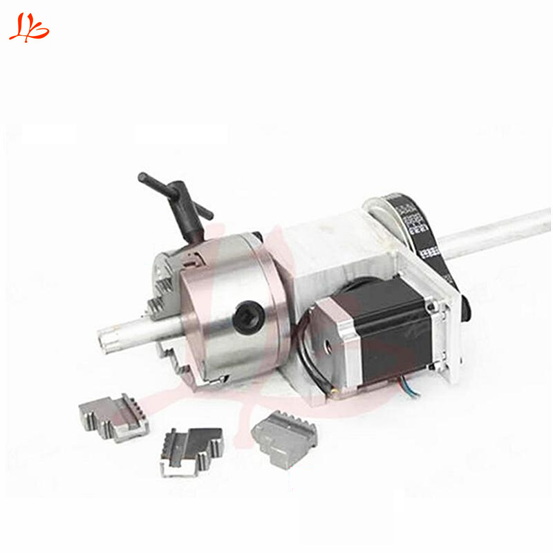 Rotation 6:1 A axis 5M 6 100A for Mini CNC router/engraver woodworking engraving machine rotary axis for 3020 CNC