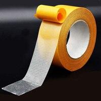 Прозрачные ручные инструменты клей для пола наземная сильная Двусторонняя лента DIY наклейка супер вязкий съемный неподвижный коврик