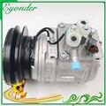 AC A/C компрессор охлаждения системы кондиционирования насос 10PA15C для Komatsu экскаватор PC200-6 200-6 44710034603D 447200-0240 447100-3460