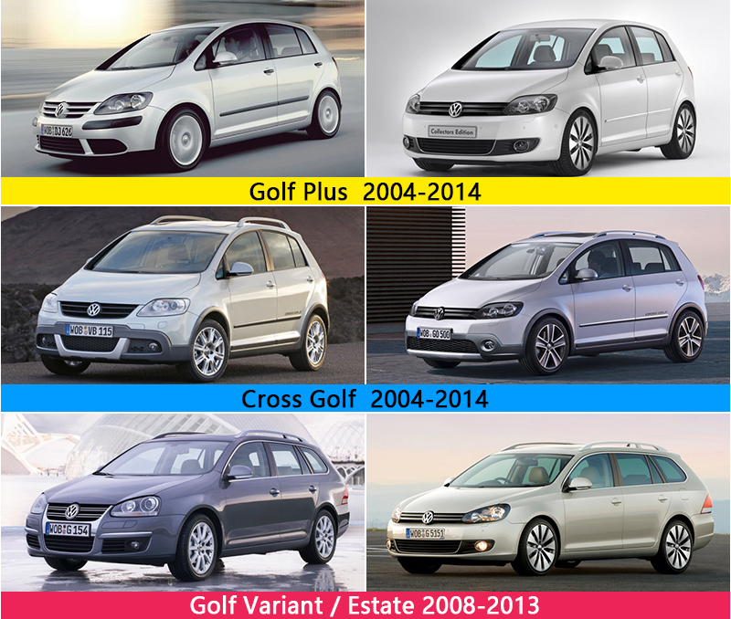 Chrome Door Handle Cover For Volkswagen Golf Variant Golf Plus Cross
