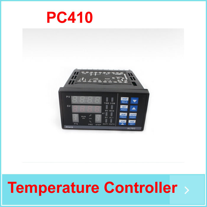 free shipping Best Quality PC410 Temperature Controller Panel For BGA Rework Station with RS232 Communication Module pc410 temperature controller panel thermostat rex c100