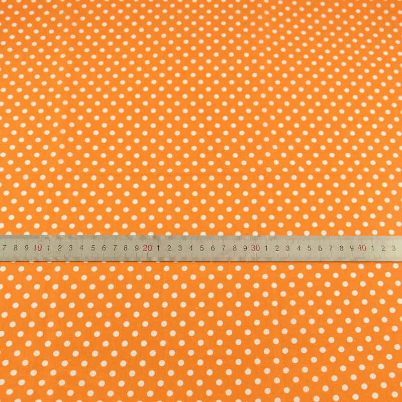 Booksew-tela de algodón 100%, color naranja oscuro, textil para el hogar DIY, ropa para muñeca Tildas para la práctica de los principiantes, vestido de cuarto ancho CM