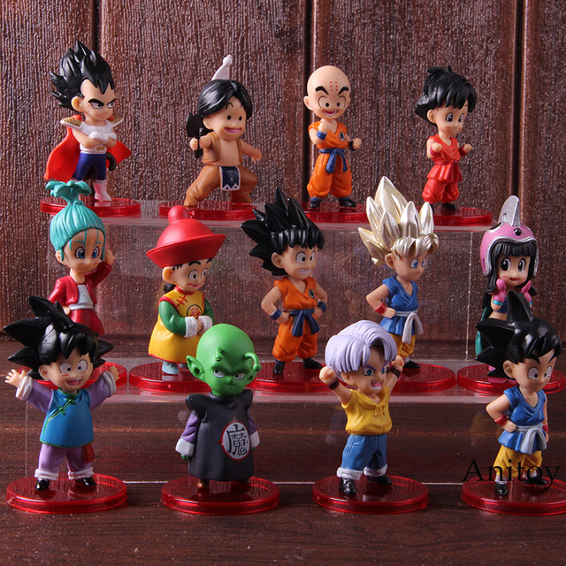 Dragon Ball Z Son Action Figures Toys (13 pcs Set)