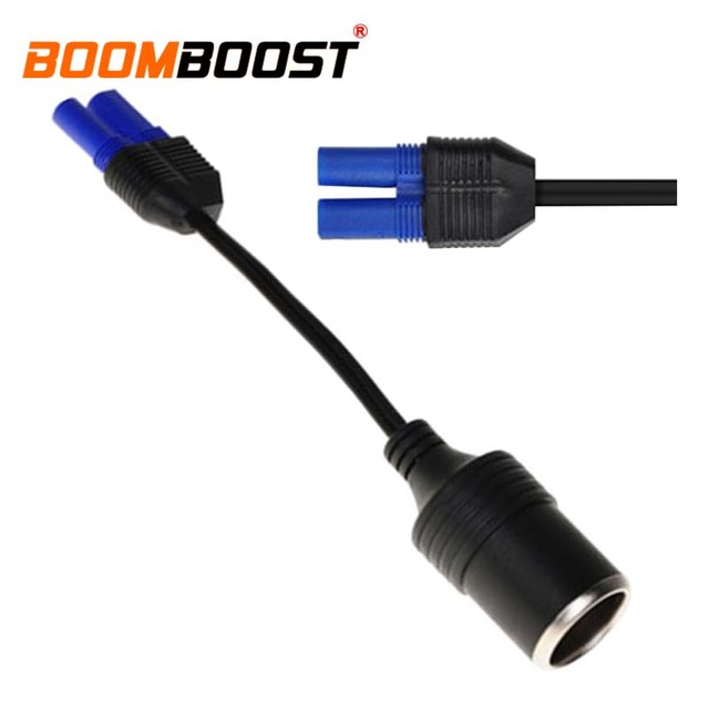 Auto DC Adapter 12V Car DC High quality Cigarette Lighter Adapter Cable Turn EC5 for car jump starter Power Source