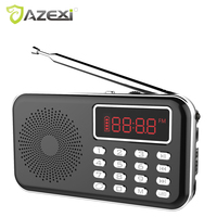 Multifunctional Digital MP3 Radio Speaker Y 619 Support FM Jack USB Record Music Player with Flashlight Best Gift for Parents