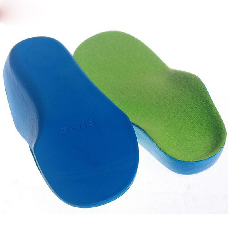 New Kids PU Foam Orthotic Insoles for Back Heel Cushioning Pain Relief Plantar Fasciitis Treatment Children Fool Care Healthy