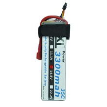 XXL High Power 3300MAH 14.8V 4S 35C MAX 70C 4S1P AKKU LiPo RC Battery For Trex 500 Helicopter