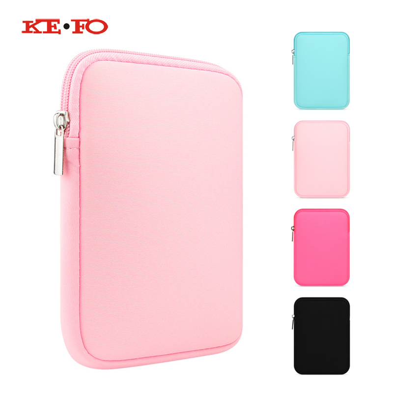 Universal Tablet Sleeve Pouch Bag Case for Apple iPad Mini 1 2 3 4 mini2 mini3 mini4 Casual Shockproof Solid Cover Case Capa