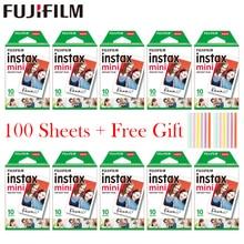 20   100 Tờ Bộ Máy Chụp Ảnh Lấy Ngay Fujifilm Instax Mini Trắng Phim Ảnh Tức Thì Giấy Cho Instax Mini 11 8 Mini 9 7S 9 70 25 50S 90 Camera SP 1 2