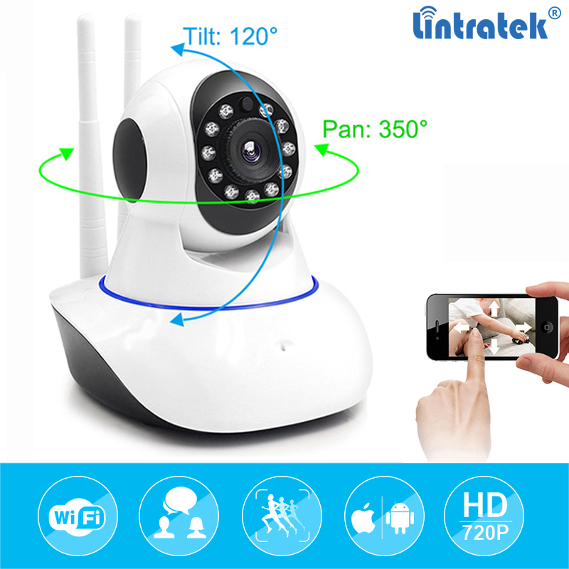 Wifi IP Camera wi-fi Mini CCTV Onvif P2P Wireless hd 720P Security Home Surveillance Camera Night Vision hd ip Cam LINTRATEK wifi ip camera wi fi mini cctv onvif p2p wireless hd 720p security home surveillance camera night vision hd ip cam lintratek
