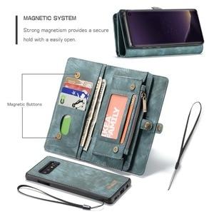 Image 3 - Étui portefeuille pour Samsung Galaxy S10 fermeture éclair magnétique étui de téléphone Folio housse à rabat pour Samsung A51 S20 Plus A50 A70 A80 S9 S8 Note 9