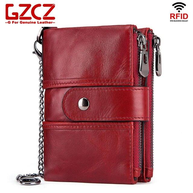 Genuine Leather Female Wallet Small Wallet Women Purse Fashion Money Wallet Women id Card Holder porte feuille femme 2