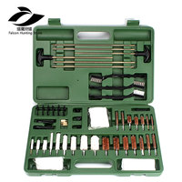 62 Piece Tactical Hunting Universal Gun Cleaning Kit Supplies For Air Gun Rifle Pistol Shot