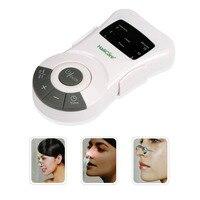 Rinite alergia reliever pulso a laser de baixa frequência rinite alérgica sinusite alívio anti-ronco nariz massageador terapia dispositivo