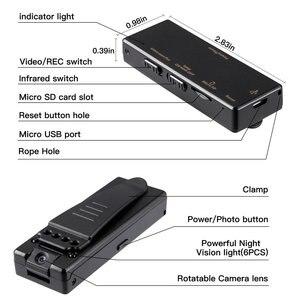 Image 3 - Микро видеокамера Vandlion A7 с диктофоном, сетевая Инфракрасная камера с функцией ночного видения, диктофон с зажимом для автомобиля