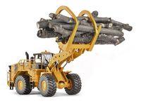Cat 988 К mA фронтальный погрузчик с складах лесоматериалов навесного оборудования 1/50 Весы по Тонкин строительных машин