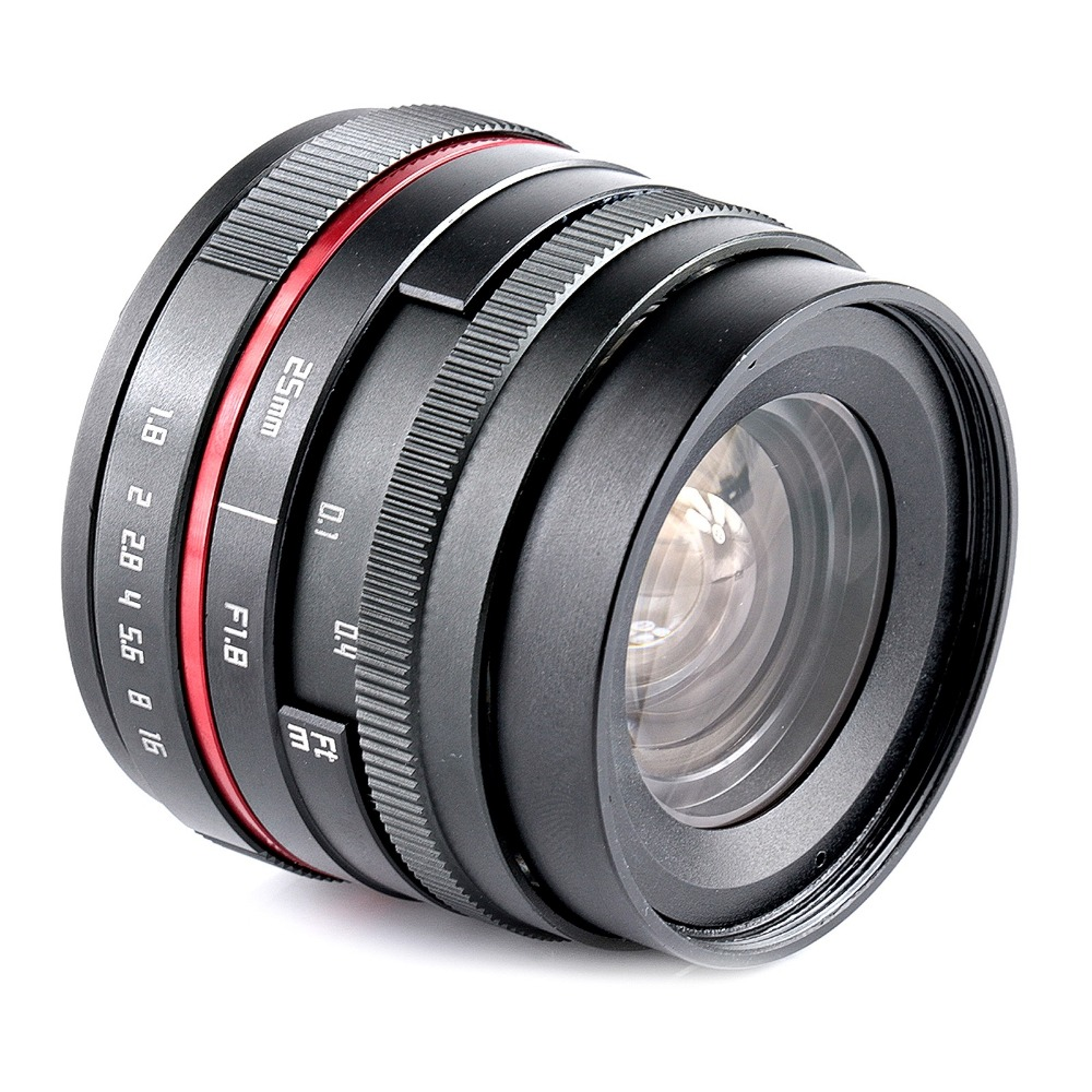25mm F1.8 Manual Wide Angle camera Lens for Fujifilm FX XT10 XT2 XT1 XA3 XA2 XPRO2 XE2 aps c fish eye lens 8mm f2 8 for fujifilm fx mount camera xt1 xt10 xe1 xe2 xm1