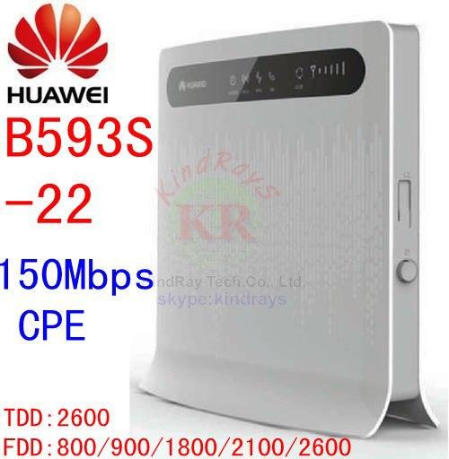 Unlocked Huawei B593s-22 150Mbps 4G lte s