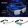 WEAR Bluetooth Smart Glasses with Earphone Bluetooth 4.0 Wireless Sunglasses Video Camera Recorder for iPhone 6S Plus Samsung