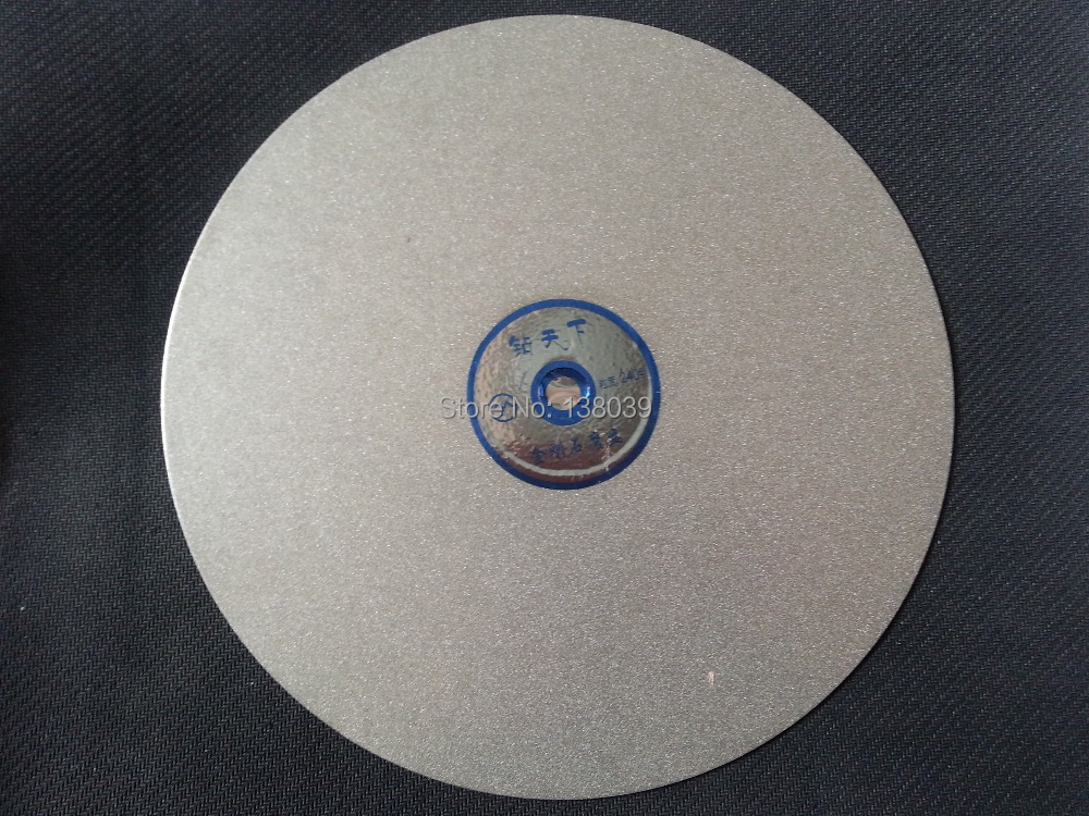 Diamond  Flat Grinding Lap Disc 10 INCH  For Gemstone , Gemstone Polishing Tools Disc Grit #240
