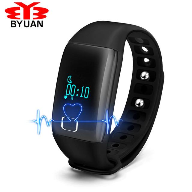Nuevo Bluetooth Deporte Smartband Actividad Rastreador Reloj Caliente Podómetro Sleep Monitor de Ritmo Cardíaco Saludable Pulsera Banda IP67 IOS Android