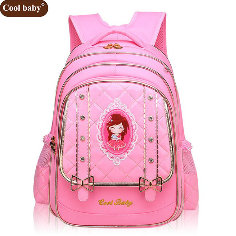 Coolbaby New School Bags for Girls Brand Women Backpack Cheap Shoulder Bag  Fashion Wholesale Kids Backpacks D269 eaa406ad6c42b