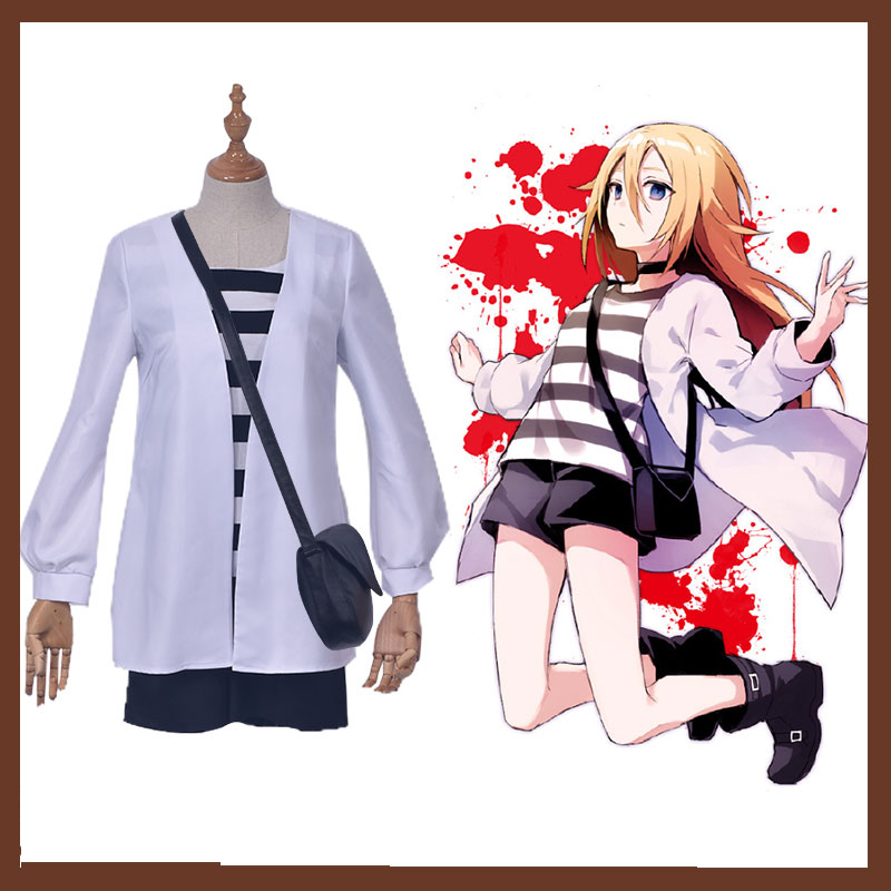 Anime Game Angels of Death Cosplay Rachel Gardner Halloween Cos Man Woman Cosplay Costume Full Set