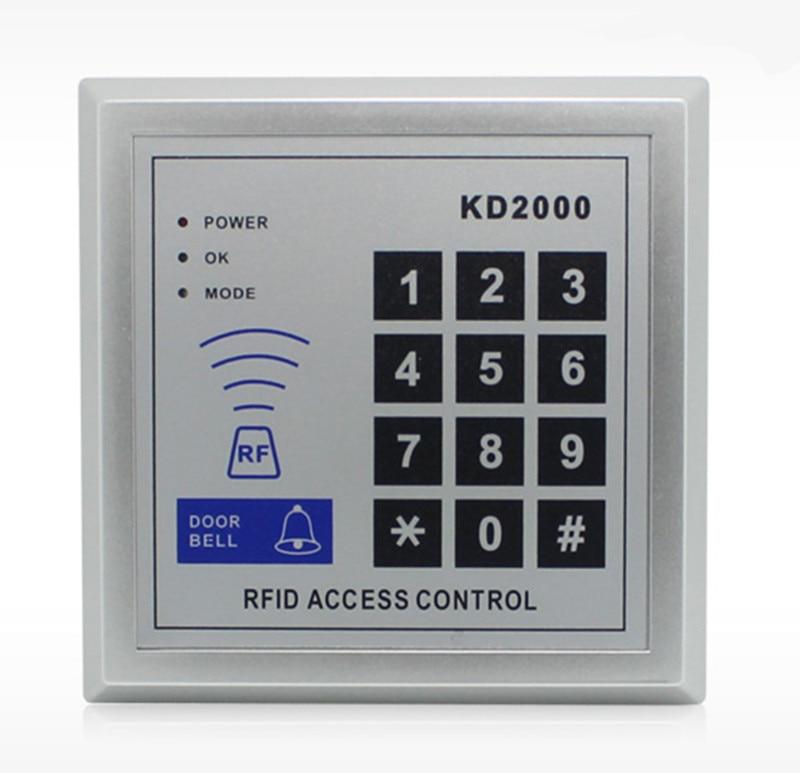 800 User ID Card Password Single Door Access Control Support External Card Reader user password