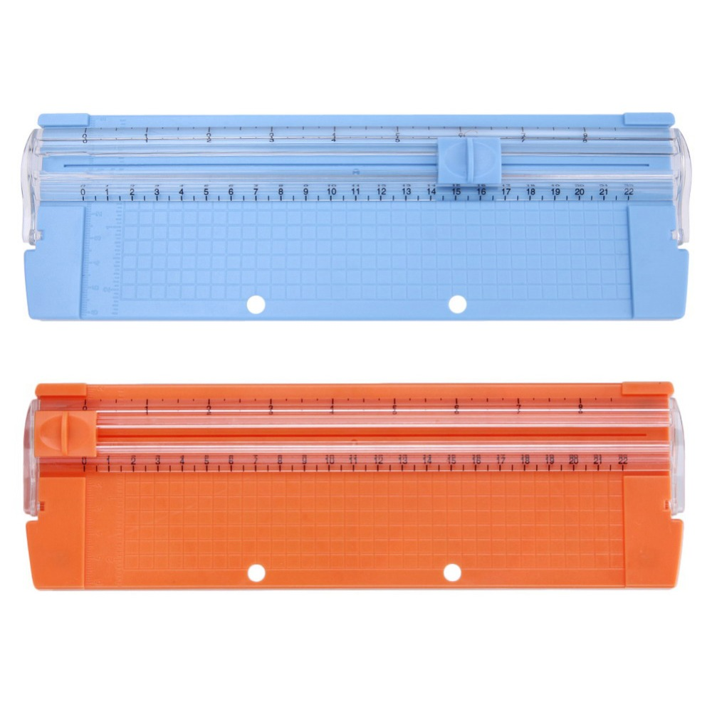 A4/A5 Precision Paper Photo Trimmers Cutters Guillotine With Pull-out Ruler For Photo Labels Paper Cutting Random Wholesale
