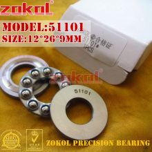 цены ZOKOL bearing 51101  Thrust Ball Bearing 10*24*9mm