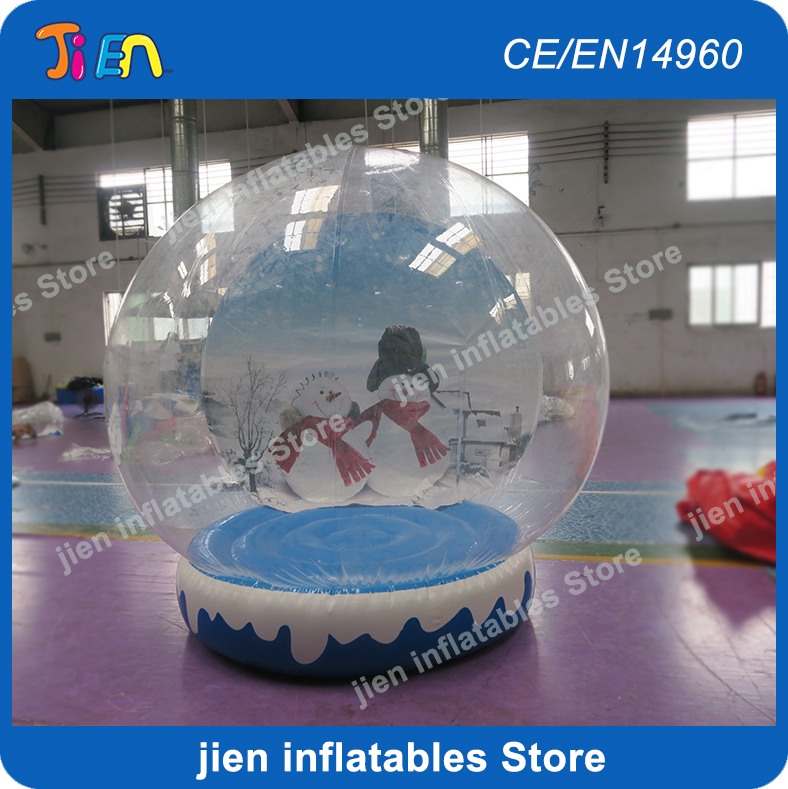 Christmas Balloon For Decoration Colours Are Striking Inflatable Human Snow Ball Contemplative Free Shipping To Door,2m Cheap Inflatable Snow Globe
