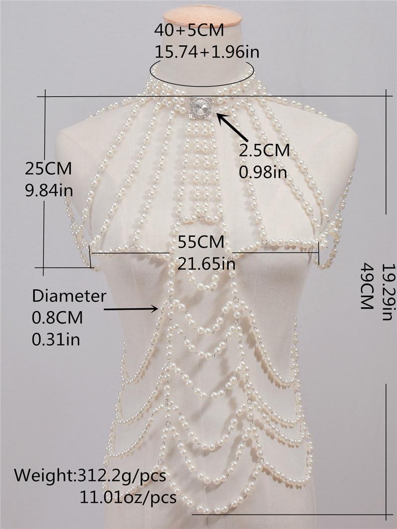 HTB1kL.BRFXXXXXNapXXq6xXFXXXw Full Body Pearl Bikini Harness