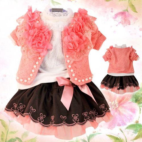 Anlencool Hot Sale Free Shipping Specials Korean Version Of The New spring Autumn Child Clothing Suit Baby Clothing Girls Dress