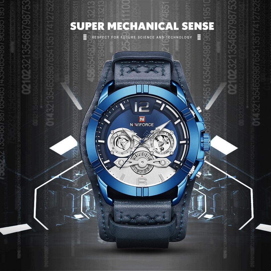 jpg Naviforce Men Watch Leather Army Military Retro Steampunk Sports Male Quartz Watch Wristwatch With Date Hodinky Relojes Hombre (1)