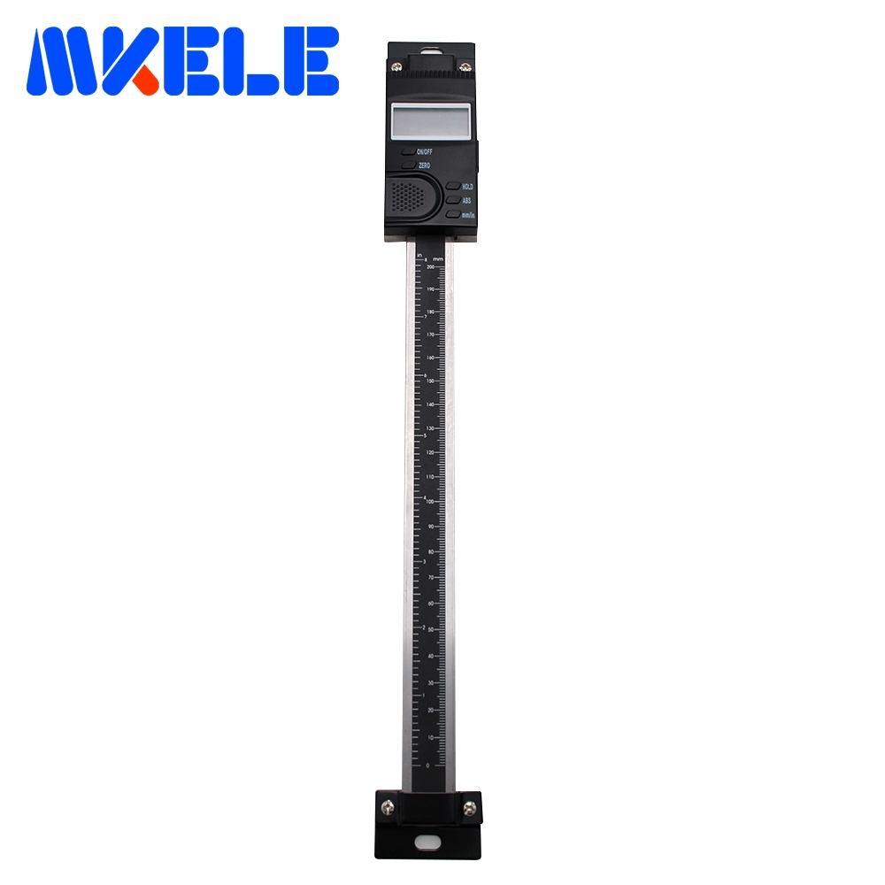 0 200mm Digital Scale Vertical High Accuracy Vertical Type Digital Linear Scale Measuring Tool 0 01mm