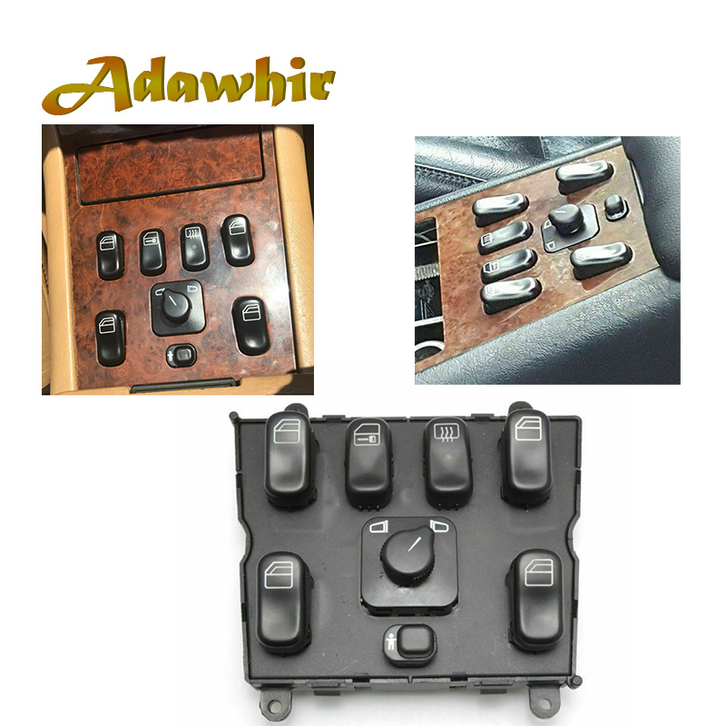 Power Window Switch For Mercedes-Benz  ML230 ML320 ML 270 CDI ML400 ML430 ML55AMG A1638206610 1638206610 A1638200910 A1638202410