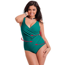 2017 Newest One Piece Swimsuit Women Bathing Suits Vintage Summer Beachwear Plus Size Swimwear Swim Suit Stripe Maillot De Bain