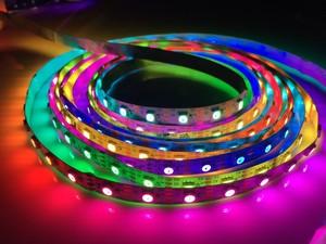 ¡Novedad de 20mX! tira LED flexible SK6822 5050RGB (un led roto y otro led que sigue funcionando) 144/72/60/30LED/m envío gratis exprés