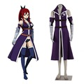 Fairy tail cosplay x791 grand magic games fairy tail equipo a erza scarlet cosplay uniforme disfraces de halloween para las mujeres