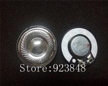 40MM super resolve vocal unit DIY headphone speaker unit Midrange and treble Unit titanium N45 rubidium magnetic 2pcs