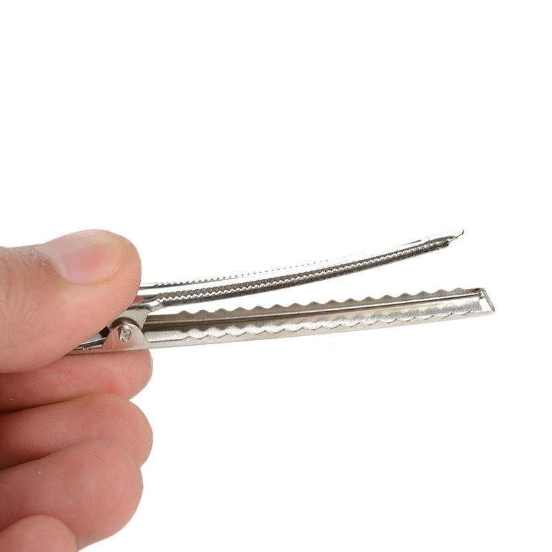 50 шт./лот металлические зажимы типа крокодил кабель свинцовый тестирование металлический зажим типа крокодил захваты Заколки 30 мм-75 мм