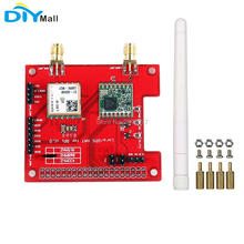 DIYmall for Dragino 868MHz 915MHz 433MHz Long Distance Wireless Lora GPS HAT Expansion Board Raspberry Pi LoRaWan